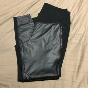 NWOT Old Navy Plus Faux Leather Leggings